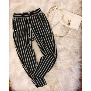 Adorable Striped Trousers